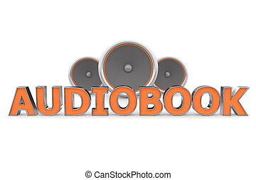 arancia, audiobook, altoparlanti, -