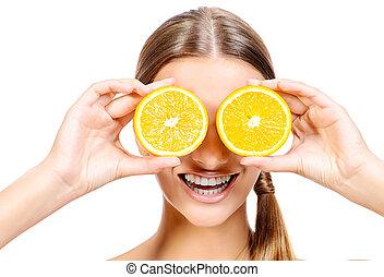 arancia, divertimento