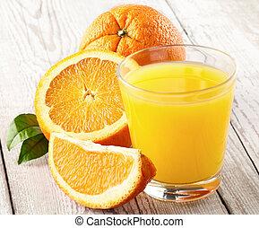 arancia, fresco, succoso, frutte
