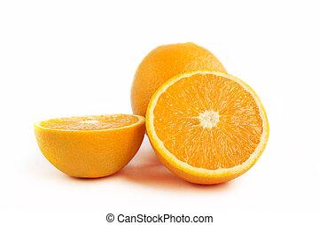 arancia, frutta, succoso