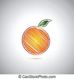 arancia, logotipo