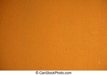 arancia, parete, lato