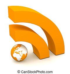 arancia, rss, segno