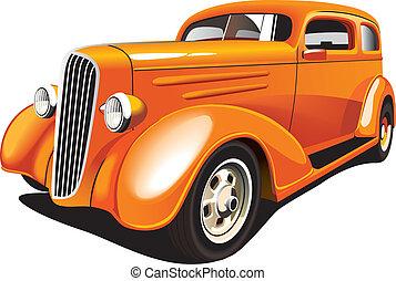 arancia, verga calda
