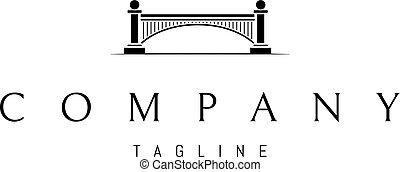 archi, ponte, astratto, columns., immagine