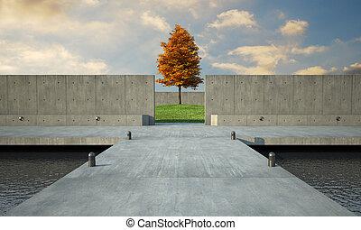 architecure, minimalistic
