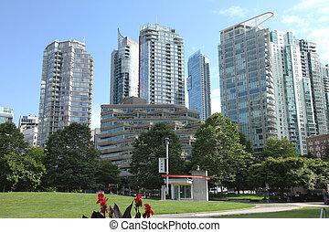 architettura, canada., vancouver, bc