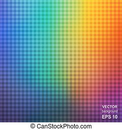 arcobaleno, astratto, quadrato, colorito, fondo.