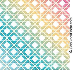 arcobaleno colorato, fondo, seamless