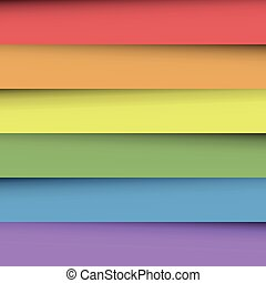 arcobaleno, fogli, colorito, spectrum., astratto, carta da parati, ricoprendo, carta, effect., colori, vettore, fondo, uggia, felice