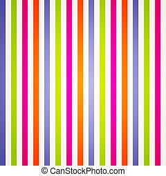 arcobaleno, luminoso, zebrato