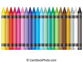 arcobaleno, pastello