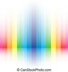 arcobaleno, priorità bassa strisce