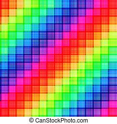 arcobaleno, seamless, fondo