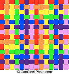 arcobaleno, tessuto, seamless, fondo