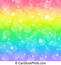 arcobaleno, vacanza, fondo