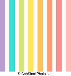 arcobaleno, vettore, zebrato