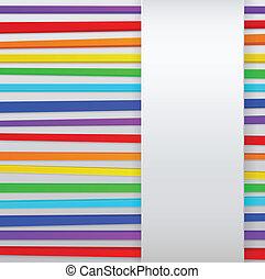 arcobaleno, zebrato