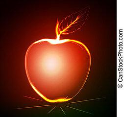 ardendo, mela