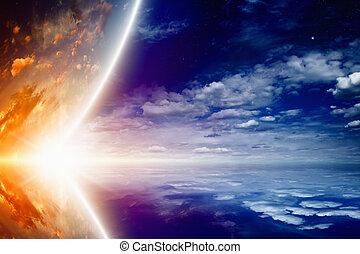 ardendo, pianeta