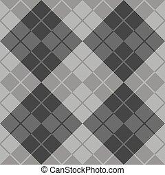 argyle, grigio