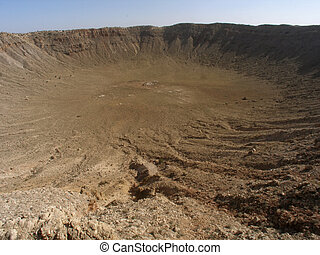 arizona, cratere meteora