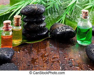 aromatherapy, vita, ancora, trattamento, terme