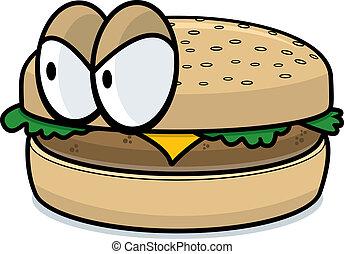 arrabbiato, cheeseburger