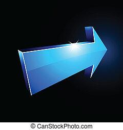 arrow., 3d