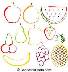 art linea, frutte