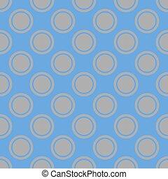arte, modello, grigio, mosaico, astratto, blu, seamless, cerchi