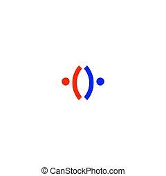 arte, persone, bianco, segno, isolato, simbolo