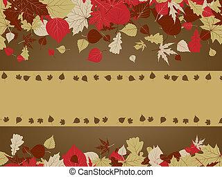 arte, vendemmia, eps, autunno, fondo., 8