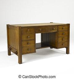 arti, arti, quercia, scrivania