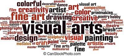 arti visuali, parola, nuvola