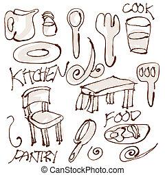 articoli, cucina