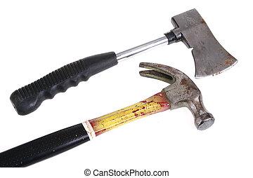 ascia, martello
