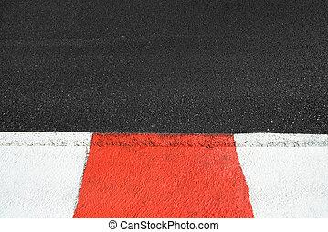 asfalto, struttura, prix, corsa, barbazzale, circuito, grande