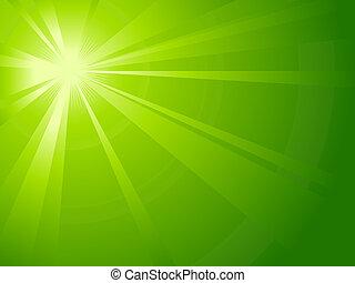 asimmetrico, verde leggero, scoppio