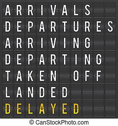 asse, aeroporto, partenza