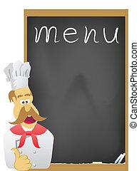 asse, menu, chef