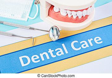 assicurazione, equipment., dentale