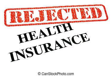 assicurazione sanitaria, rifiutato