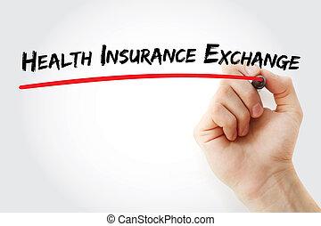 assicurazione sanitaria, scambio