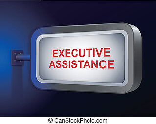 assistenza, parole, tabellone, esecutivo