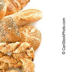 assortimento, bread, bordo