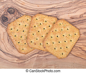 assortimento, cracker
