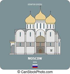 assunzione, mosca, cattedrale, russia