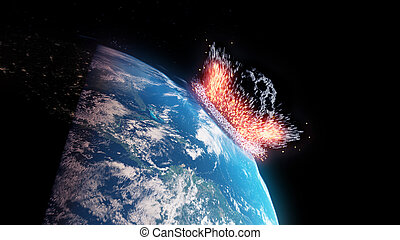 asteroide, impacts, terra