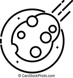 asteroide, spazio